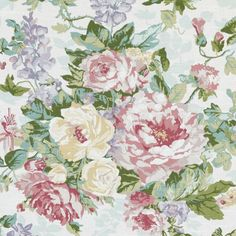 Pattern #42481 - 700 | Crestmore Traditonal Prints Collection | Duralee Fabric by Duralee