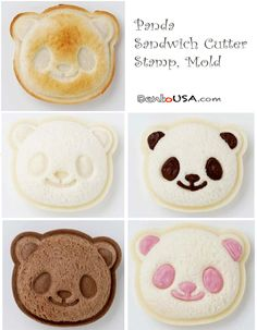 How to make Panda Sandwich Bento Lunch | AllThingsForSale Bento USA