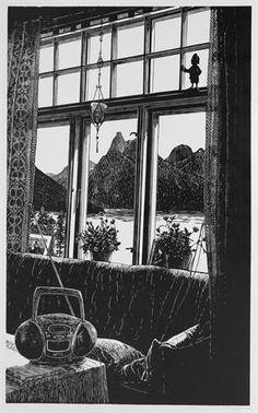 Klikk for å forstørre bilde Windows, Curtains, Home Decor, Photo Illustration, Blinds, Decoration Home, Room Decor, Interior Design, Draping
