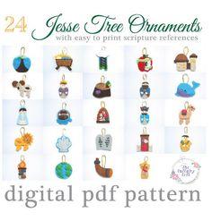 jesse tree symbols  Google Search  Christmas  Pinterest  Trees