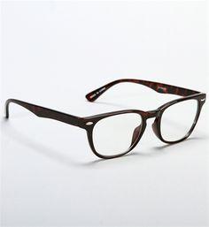 Tortoise Clear Vision Glasses