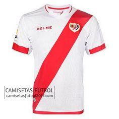 Primera camiseta de Rayo Vallecano 2015 2016 | camisetas de futbol baratas