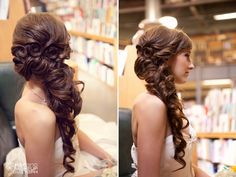 I love this hair style! Beautiful. visit our site:http://www.maquillajeelenahiguera.com