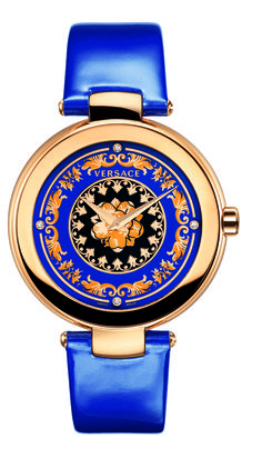 The Versace Mystique Foulard is a sophisticated jewelry watch that reflects the creative opulence of Versace's DNA. #VersaceWatches #Versace