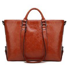 d4271f20dff3 Women Fashion Minimalist Handbag Leisure Business Shoulder Bag Tote Bag