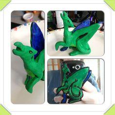 Green Dragon by Ekunyi