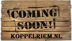 opening online webshop www.koppelriem.com