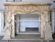 71.5 wide x 55.5 wide x 12.5 deep: Opening is 42.1 wide x 38.5 high  thegatz - Hand Carved Marble Fireplace Mantel Cherubs at Play, $3,350.00 (http://www.thegatz.com/hand-carved-marble-fireplace-mantel-cherubs-at-play/)
