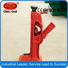 China Coal Mechanical Rail Track Jack Keyword:jack,track jack,mechanical rail track jack chinacoal07  Product Introduction Mechanical track jack is the simplest & sturdiest types of the jacks and widely used in Oil Fields, Railway Track Work,Ship Yards, Mining Operation, Construction &Heavy Duty Industrial Maintenance & Establishments. These Track jacks can be used to lifting both on down and up strocks. They're not only be lowered tooth by tooth but also can be made to tripped off by just…