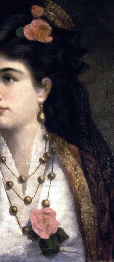 Рише, Адель - Портрет Сербской королевы Натальи Обренович (Richet ,Adele. Retrato de la reina de Serbia Natalia Obrenovic)