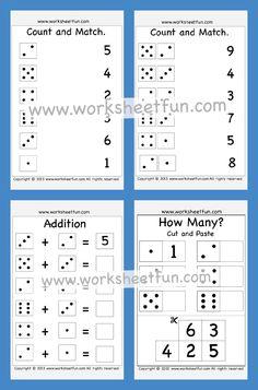 Subtraction Kindergarten, Kindergarten Addition Worksheets, Numbers Kindergarten, Subtraction Worksheets, Line Tracing Worksheets, Free Printable Worksheets, Writing Worksheets, Pattern Worksheet, Small Letters