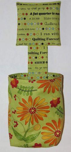 Thread Catcher Bag Pin Cushion Catch-all Scrap Caddy by MiniMade