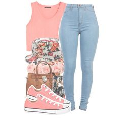 Flower child, created by twerkinwitray on Polyvore