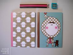 notebook by moniquilla