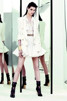 Balmain Resort 2014 collection by Oliver Rousteing