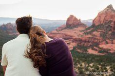Engagement Photography Erin Evangeline Schnebly Hill Road Merry Go Round, Sedona Arizona