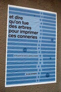 20 affiches drôles, provocantes et poétiques signées Cobie Cobz Calvin Klein T Shirt, Power To The People, Street Art Graffiti, Urban Art, Landscape Architecture, Land Scape, Simple, Art Quotes, Banner