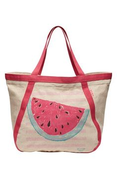 Roxy 'Cruise Watermelon' Beach Tote available at #Nordstrom