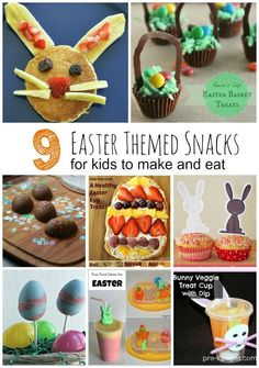9 Easter Theme Snacks for Kids cooking ideas for preschoolers cooking ideas for toddlers egg recipes ideas recipes ideas recipes ideas families recipes ideas healthy recipes ideas sides recipes ideas simple easter recipes ideas Easter Snacks, Easter Treats, Easter Recipes, Egg Recipes, Easter Food, Kid Snacks, Easter Dinner, Easter Party, Healthy Snacks