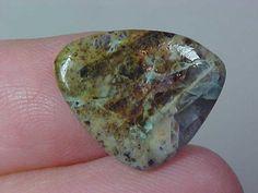 Natural Kaleidascope Prism Agate Cabochon