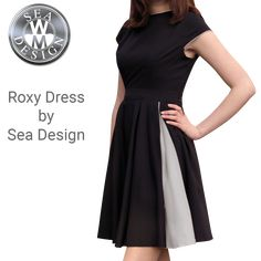 Roxy Dress by Sea Design Henri Lloyd, Uniform Dress, Helly Hansen, Roxy, Sperrys, Dresses For Work, Sea, How To Wear, Black