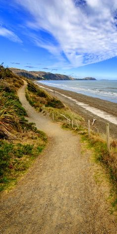 Raumati Beach lies at the south end of the Kapiti Coast, about 45 minutes drive from Wellington, New Zealand ~ The Beautiful Country, Beautiful Places, Auckland, Take The High Road, New Zealand Landscape, New Zealand Houses, New Zealand Travel, South Island, What Is Like