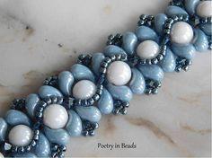 Beading Bracelet Tutorial Beaded Pattern La Mer Bracelet