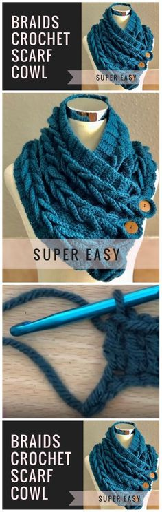 Crochet Scarf For Beginners