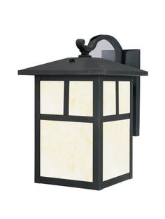 Westinghouse Lighting 6483000 Energy Star One-Light Exterior Wall Lantern with Dusk to Dawn Sensor, Textured Black Finish on Steel by Westinghouse. $143.84. Amazon.com                The Westinghouse Nova Scotia outdoor wall lantern provides warm, steady light and an understated cosmopolitan sophistication on the porch, along the house, or elsewhere in the yard. Ideal for outdoor use, it's made of durable steel with a textured black finish and has the warm glow of honey art gl...