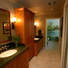 Bathroom Design - different flooring