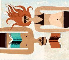 #книги #чтение #иллюстрация #лето #пляж #book #books #reading #summer #libros #lectura #verano #playa