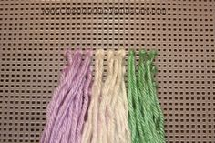AMAZING idea, make a braiding practice board out of just yarn and the plastic used for embroidery, and you can practice and master braiding. Children Hairstyles, Little Girl Hairstyles, Easy Hairstyles, Curly Hair Care, Curly Hair Styles, Natural Hair Styles, Cornrows, Braids, French Plaits
