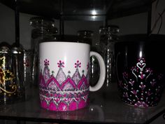 Painting on mug /من أشغالي الفنية /هوايتي