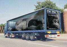 Spectacular Truck Advertising.