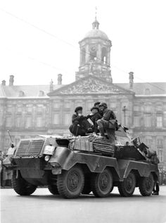 Pin by Paolo Marzioli. The first German soldiers arrive in Dam Square the day following the Dutch defeat and surrender of the Battle of the Netherlands. Part of Case Yellow (German: Fall Gelb), the Battle of the Netherlands took place after the German invasion of Belgium,...
