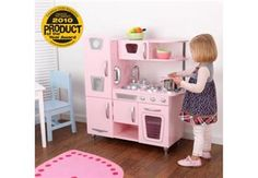 KidKraft Pink Vintage Kitchen, minikjøkken