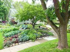 Image result for front yard garden