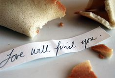 Homemade fortune cookies  I am definately making these for New Years