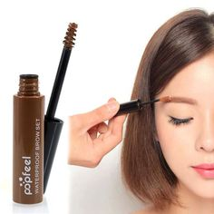 Popfeel Professional Long Lasting Waterproof Eyebrow Cream Makeup Paint Cosmetics Brow Gel Set No Blooming Beauty Tools 4 Colors