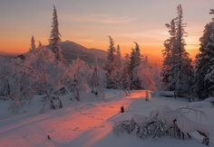 """Winter Sundown.....by Marateaman"""