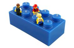 LEGO Brick Candles