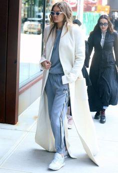 Gigi Hadid Photos Photos - Gigi Hadid Out And About In NYC - Zimbio