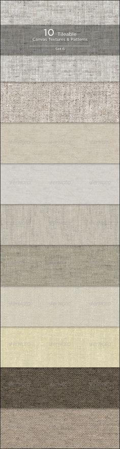 10 Tileable Canvas Textures/Patterns - GraphicRiver Item for Sale