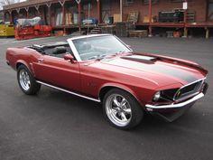 69 Mustang Convertible