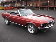 Tell my husband that this would be a great birthday present! 69 Mustang Convertible