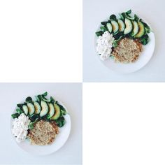 Quinoa-Avocado-Cottage cheese lunch Cottage Cheese, Recipe Box, Avocado Toast, Quinoa, Vegetarian, Lunch, Healthy Recipes, Breakfast, Food