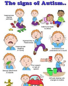 Find out more about symptom of autism in here!