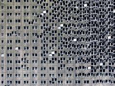 EVOL, Huge 'Buildings' Mural, Paris