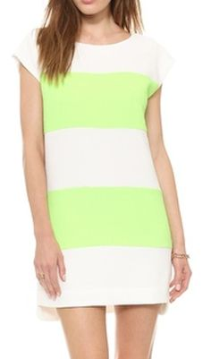 neon lime shift dress  http://rstyle.me/n/nv65mpdpe