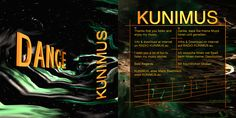 Booklet Cover from my Audio CD: KUNIMUS - DANCE